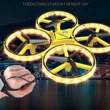 RC Helicopters Remote controlled aircraft toys with led Hand