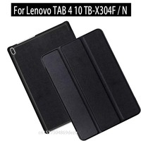 For Lenovo Tab 4 10 TB X304F TB X304N 2017 New Tablet Flip Folding Magnetic Stand