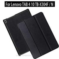 For Lenovo Tab 4 10 TB X304F TB X304N 2017 New Tablet Flip Folding Magnetic Stand