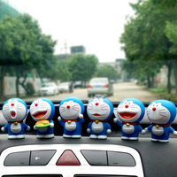 AIMS The cat is lovely doll car decoration blue fat car decoration cartoon jingle cats