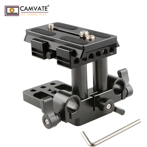 Image 1 - CAMVATE Quick Release Mount Base QR Plate for Manfrotto Standard Accessory C1437 camera photography accessories