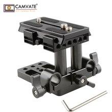 CAMVATE Quick Release sabitleme kaidesi QR plaka için Manfrotto standart aksesuar C1437 kamera fotoğraf aksesuarları