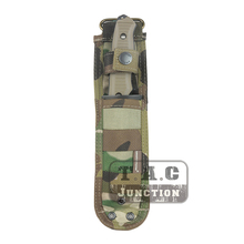 Emerson Tactical Combat Fixed Blade MOLLE Multi-Use Survival Handle Knife Sheath Case Pouch for SOG M37 140 141 w/ Hard Liners