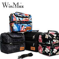 Winmax Design Insulated Lunch Bag for Women Food Fresh Keep Male Outing Cooler Bag Picnic Thermal Pizza Delivery Bolsa Termica