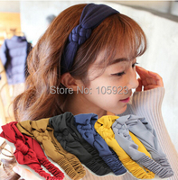 hairband korea cute style headband elastic head ring 6 colors free ship 12pcs/lot
