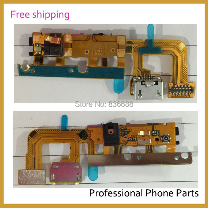 Original Mobile Phone Spare Parts For Huawei Ascend P6 Charging Port Flex Cable /USB Connector Flex Replacement, Free Shipping ...