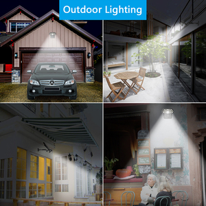 Image 5 - Shark LED Solar Light PIR Motion Sensor Solar Lamp Waterproof Solar Powered Spotlights Wall Lamp For Outdoor Garden Decoration