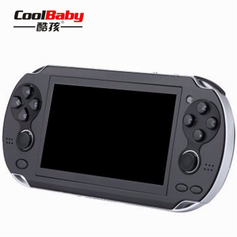 Portable Video Game Console 8GB Handheld Game Console 4.3 Inch Gaming Player Mp4 Mp5 Mini Game Consolas Portable Present for kid ...