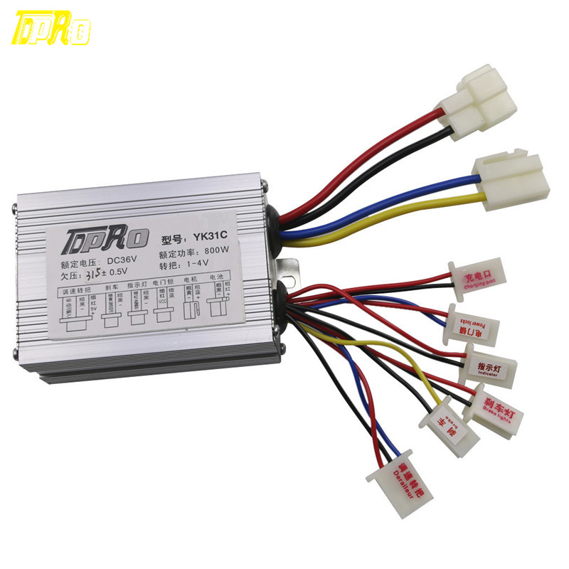 Motorcycle Engines <font><b>800W</b></font> 36V Speed Controller Control Electric Motor for Scooter Mini Bike <font><b>Quad</b></font> image