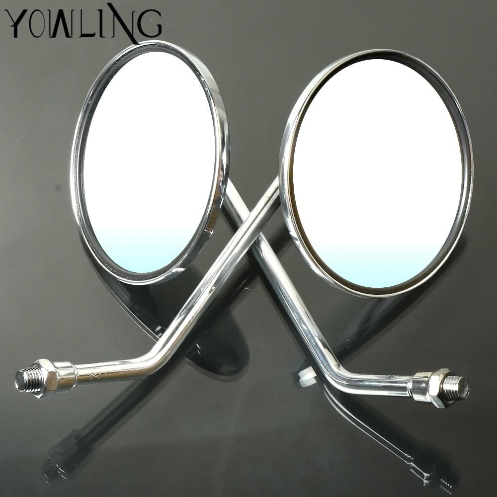 Motorcycle Rearview Mirror Universal Motorbike Replacement