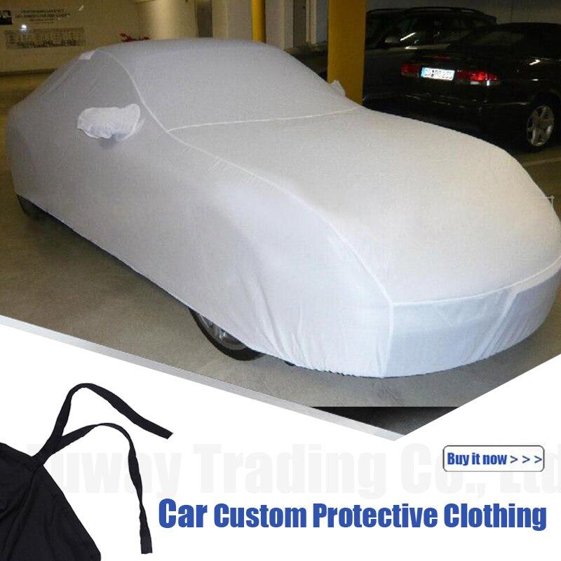 Bâches de voiture Anti UV neige pluie résistant aux rayures automatique pour Mercedes Benz GLK320 C63 W204 CLS G63 W126 E350 GLC300 E300 - 3