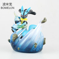 Spirit Lucario Aciton Figures Puppets Character Model Anime Figure Vinyl Doll Pocket Monster Toys Figures Boys