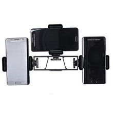 Three Positions Phone Holder Tripod Stick Cell Phone Stand Stabilizer Clip For Live Streaming Mobile Phone Camera Stand Bracket(China)