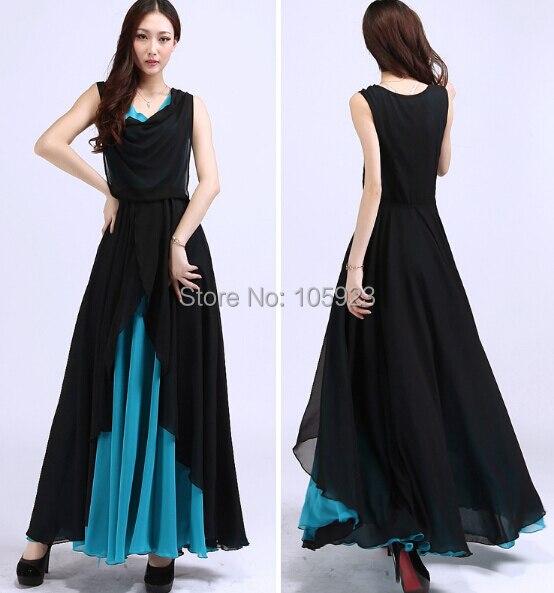 3870c62744e73 fashion chiffon dress stylish clothing summer sweep long dress wear jilbab  women cloth kaftan free ship