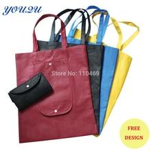 Индивидуальная Складная Сумка Складная хозяйственная сумка Нетканая складная сумка низкая цена+ escrow принимаем