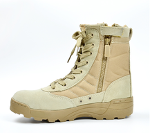New America Sport Army Men's Tactical Boots Desert Outdoor Hiking Boots Military Enthusiasts Marine Male Combat Shoes
