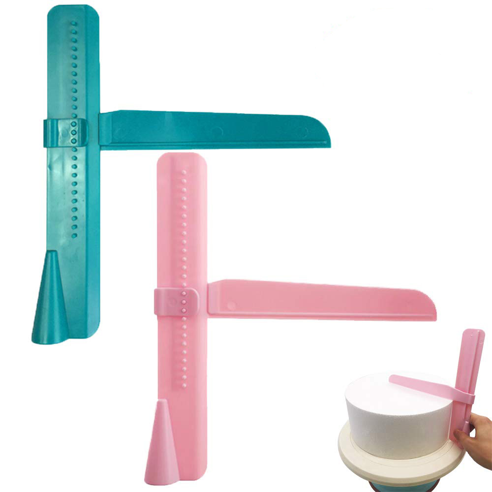 <font><b>Cake</b></font> <font><b>Scraper</b></font> Adjustable <font><b>Cake</b></font> Edge <font><b>Smoother</b></font> Pastry Mold Cream Butter Fondant Spatula <font><b>Cake</b></font> Decorating Tools Kitchen Accessories image