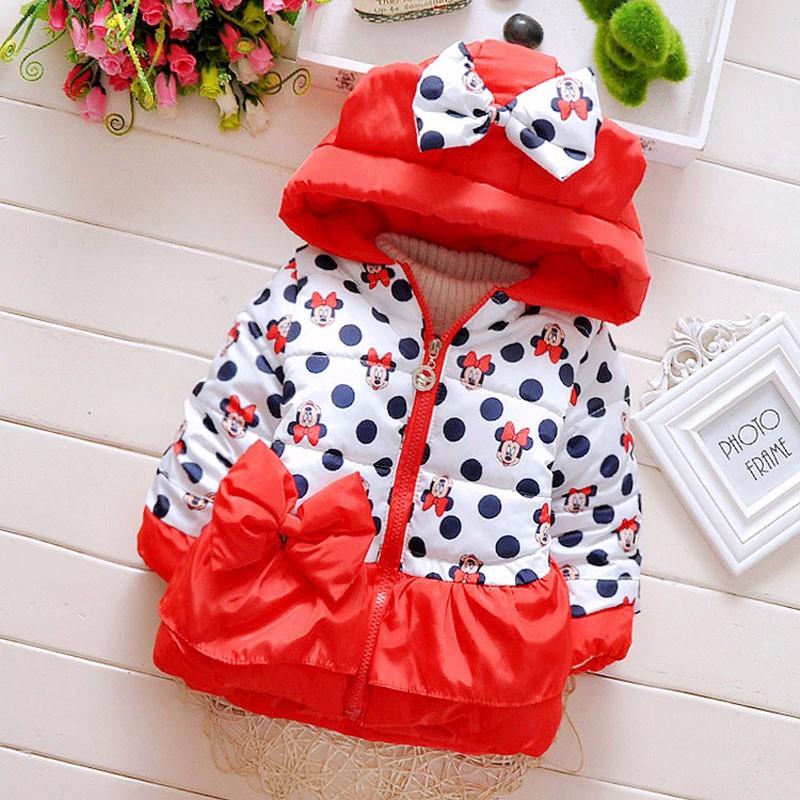 LZH Baby Girls Jacket 19 Autumn Winter Jacket For Girls Coat Kids Warm Hooded Outerwear Coat For Girls Clothes Children Jacket 42