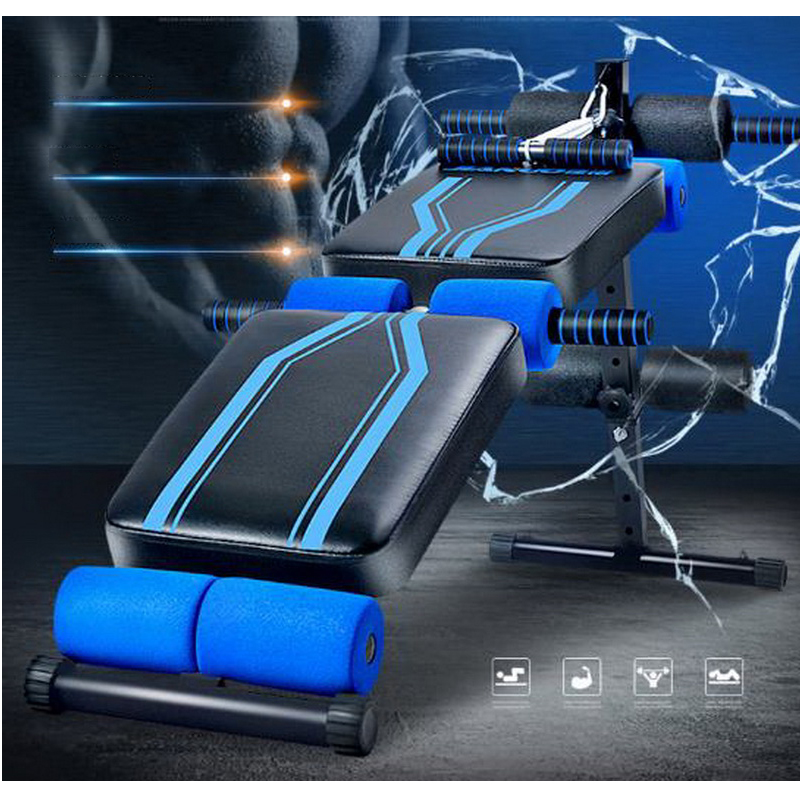 180619/Sit-board fitness sports equipment household multifunctional abdomen drawing ab machine male women's