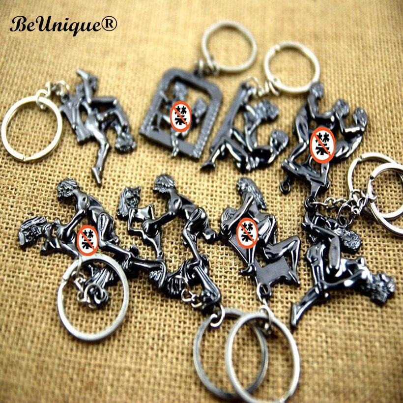 Подвижная эротическая металлическая цепочка для ключей, секс продукт, кольцо для ключей, кулон для взрослых, забавный подарок, оптовая продажа 100 шт./лот|Брелоки|   | АлиЭкспресс