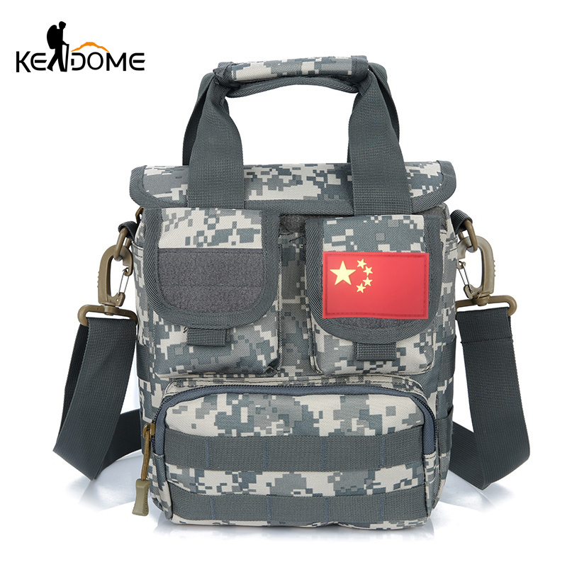 Outdoor Molle Handbag Trekking Men Women Tactical Shoulder Bag Camouflage Military Multifunction Traveling Commute Bags  XA607WD outlife new style professional military tactical multifunction shovel outdoor camping survival folding spade tool equipment
