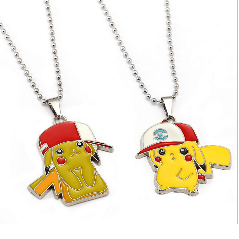 ORP Anime game theme products Pokemon Go nceklace Pikachu pendant necklace fine accessories wholesale