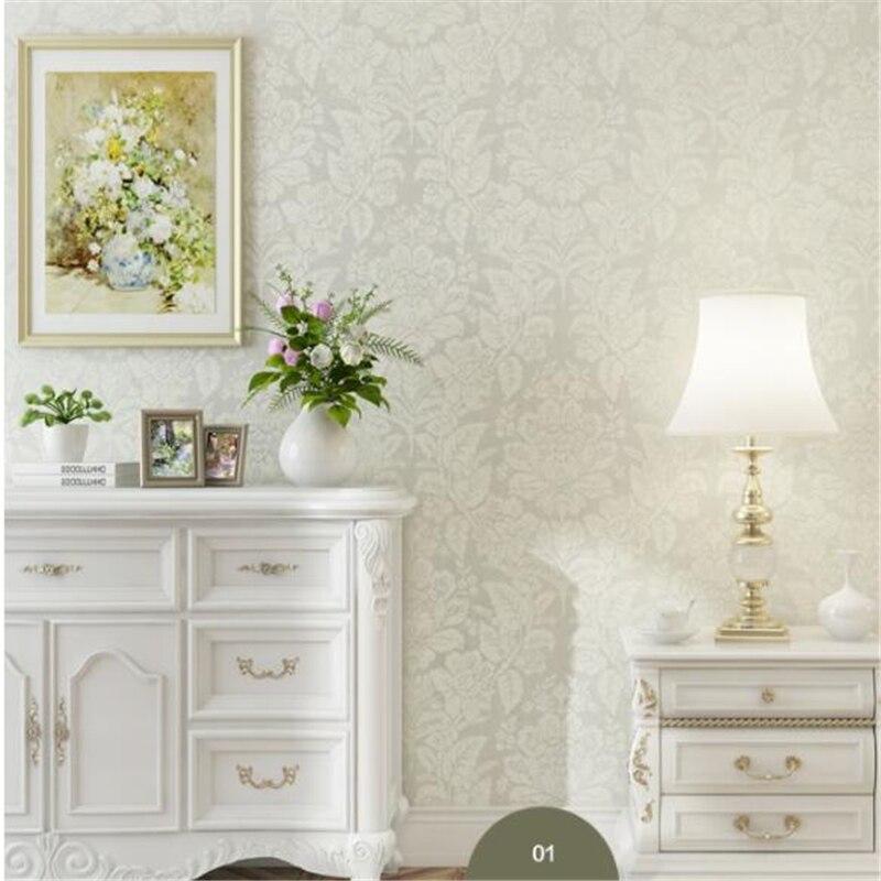 Beibehang papier peint European style wallpaper, non-woven fabric, wallpaper, living room, bedroom, 3D wallpaper, TV background beibehang fabric european   style