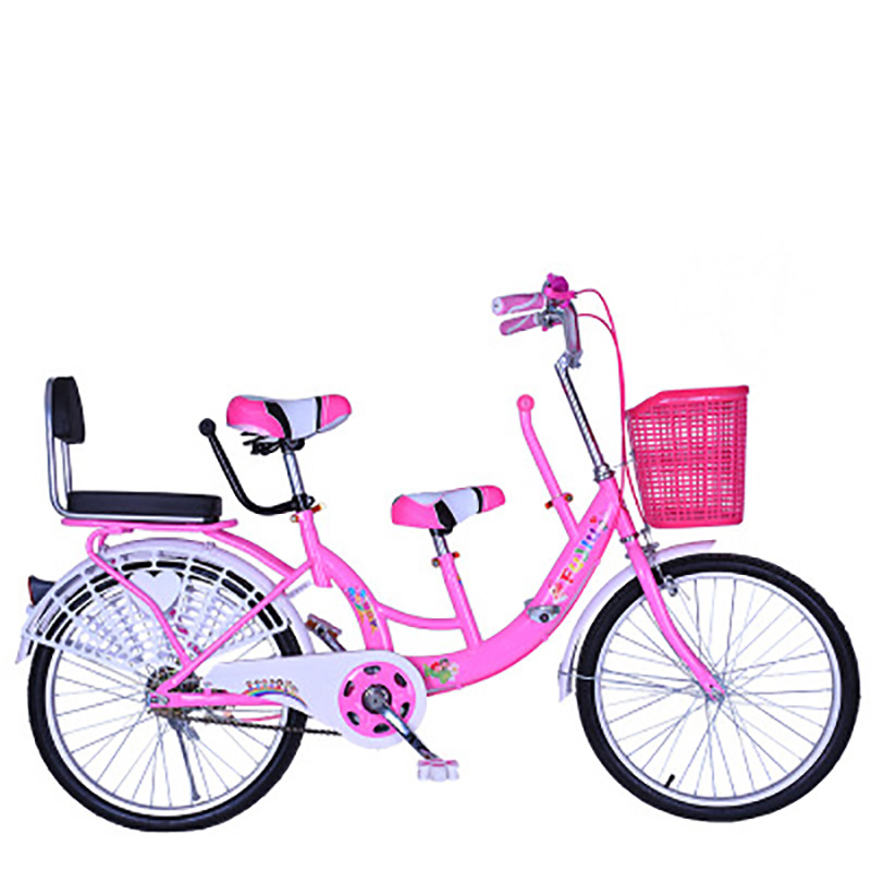 22 Inch Double Bike Mother And Child Bike With 2 Children