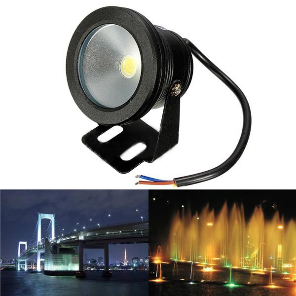Led Lamps 10pcs/lot Rgb 10w Dc12v Underwater Led Fountain Lights Led Pool Lamp Pond Light Ip68 Under Water Led Ligh To Ensure Smooth Transmission Lights & Lighting