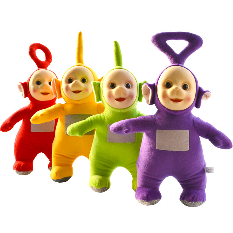 Hot Sale Kids Teletubbies Baby Doll Cartoon Movie Plush Toys 33cm Size with 3D Face Gift For Children classic animation hercules baby pegasus plush white horse toys 33cm pelucia plush toys for children kids toys gift