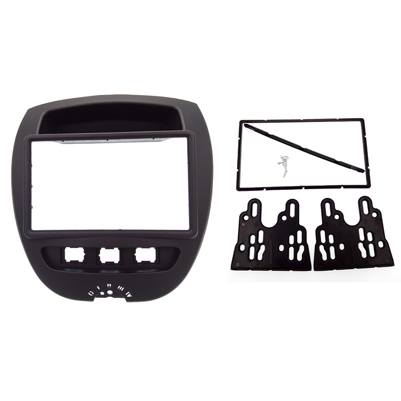 2DIN High Quality Car Radio Fascia For Toyota Aygo/For Peugeot 107/Citreon C1 Can't Use For UK, Germany, Poland, Italy