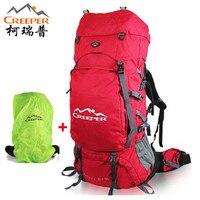 Creeper Climbing backpack 90L Professional 2018 Outdoor Shoulders Hiking waterproof men women travel Sport Mountaineering Bag