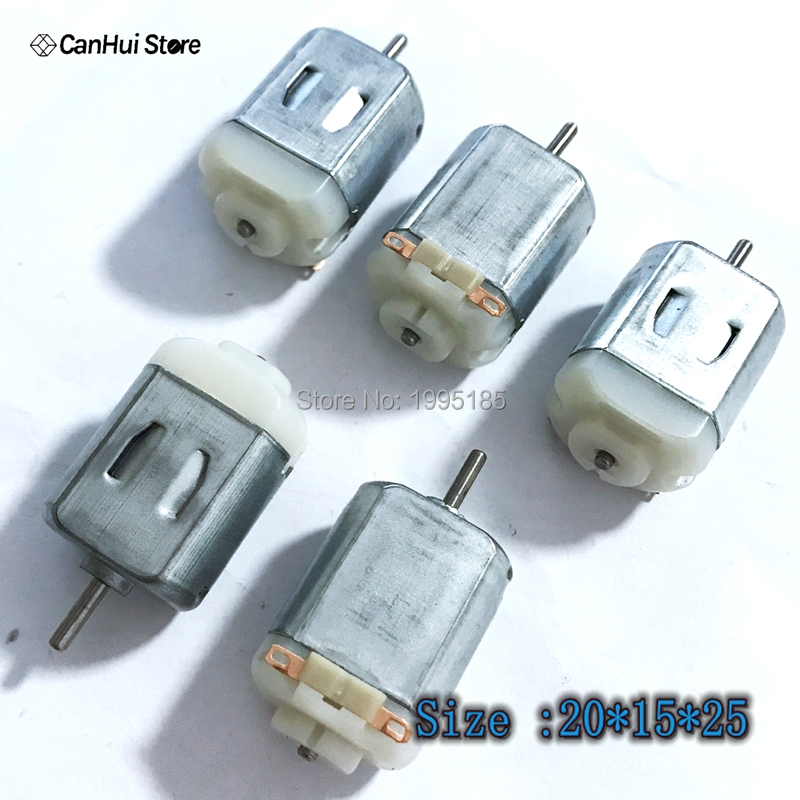 10PCS Micro 130 Pony Up To Four Drive Dc Motor Small Motor Production Of 3V DC Motor For DIY Toys Hobbies Smart Car