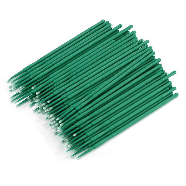 100Pc/ Bottle Microblading Micro Brushes Swab Lint Free Tattoo Permanent Supplies 2JY18 1