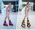 jumping stilts Bounce shoes toys for children kids with 2 In 1 Skate And Kangaroo fitness Exercise 20~70kg Space Bouncing Shoes