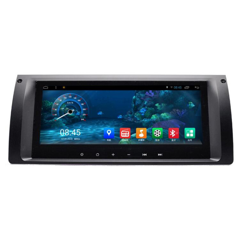 ChoGath 8.8 ''Voiture Lecteur Multimédia Quad Core Android 7.0 Autoradio GPS Lecteur de Navigation pour BMW X5 E39 E53 (1996-2007) AUCUN DVD