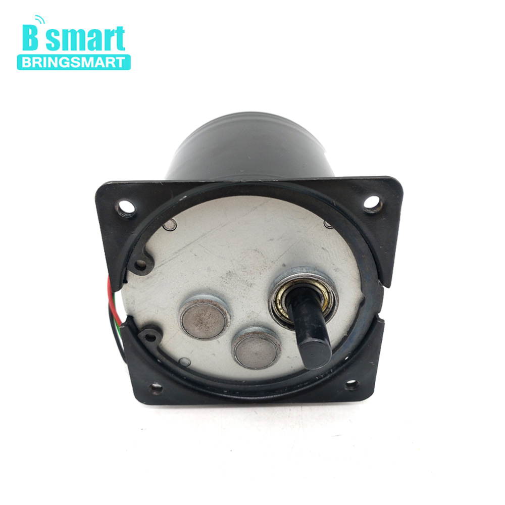 Bringsmart AC High Torque Speed Adjustable Low Noise Synchronous Motor 220V Slow Speed Machine Long Life Electric Motor 80KTYZBringsmart AC High Torque Speed Adjustable Low Noise Synchronous Motor 220V Slow Speed Machine Long Life Electric Motor 80KTYZ