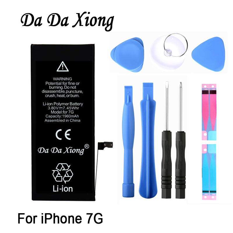 Replacement-Batteries Xiong-Battery IPhone 7 Original Apple Da For 7G 1960mah/real-Capacity