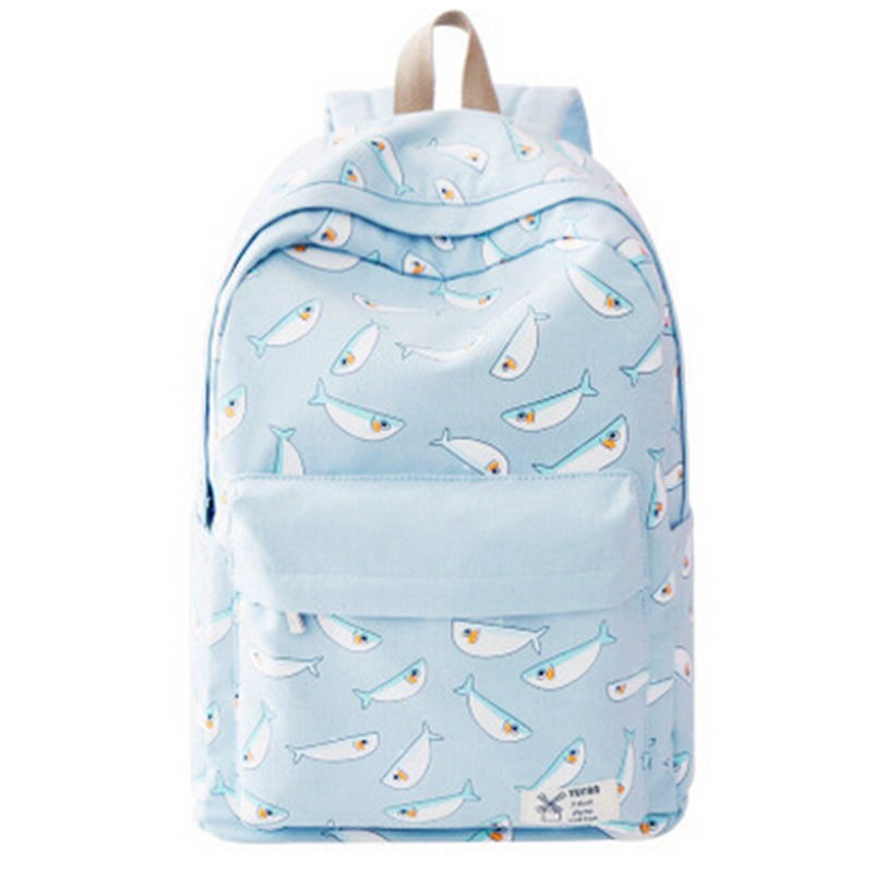 2017 New Fresh Fashion Laptop Backpack Cute Backpacks for Teenage Girls Bagpack Bolsa Feminina Canvas Back