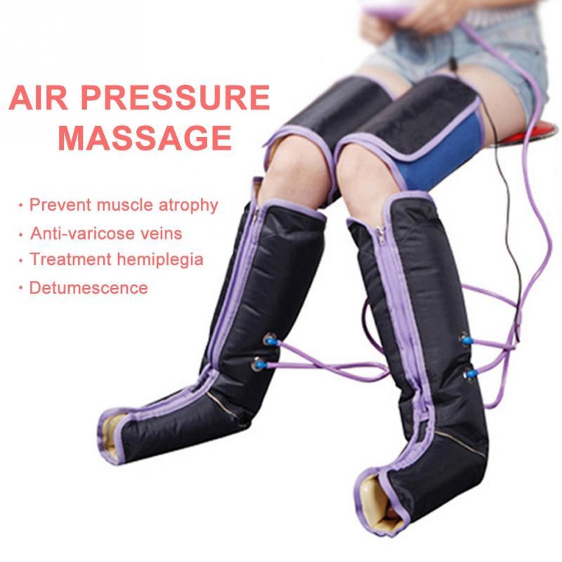 공기 압축 다리 마사지 기계 전기 순환 다리 랩 바디 발 발목 송아지 치료 중괄호 지원-에서교정기 및 지지대부터 미용 & 건강 의  그룹 1