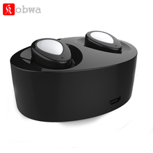 True Wireless Earbuds TWS Mini earpiece Bluetooth Earphone Earbuds Stereo Portable Handsfree With Mic Charging case Headset