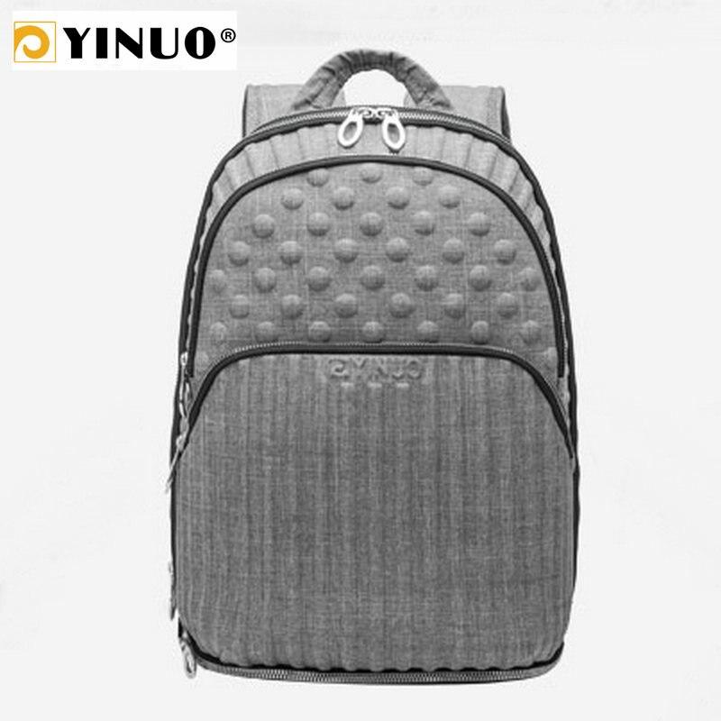 YINUO Multifunction Backpack Men Laptop 13inch Backpack Waterproof Expandable Capacity EVA Stamper Travel BagYINUO Multifunction Backpack Men Laptop 13inch Backpack Waterproof Expandable Capacity EVA Stamper Travel Bag