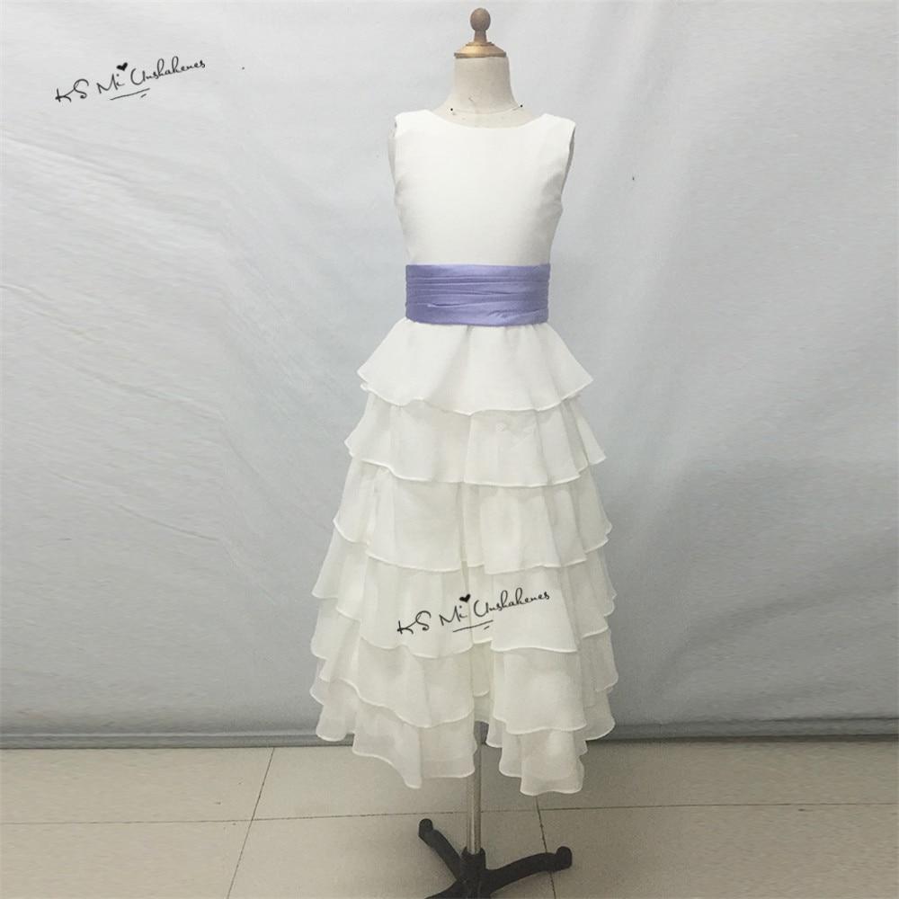 Cheap lavender white flower girl dresses for weddings chiffon girl cheap lavender white flower girl dresses for weddings chiffon girl birthday party dress first communion dresses for girls 10 12 izmirmasajfo