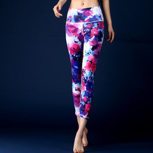Coloré 3D Impression De Yoga Pantalon Remise En Forme De Yoga Leggings Push Up Fonctionnant Sport Collants Femmes Workout Yoga Vêtements Pas Cher Boutique En Ligne