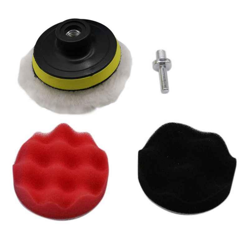 7 шт. 8 см полировка автомобиля полировка колодки автомобиля удаляет царапины для авто ограночного комплект буфера с дрель адаптер