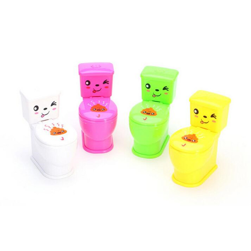 Funny Water Spray Toilet Tricky Toys Novelty Spoof Gadgets Toys For April Fools Day Children Party Favors Gifts Christmas