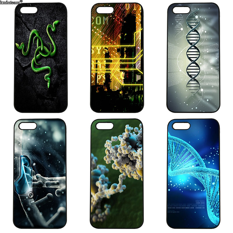 Mobile Phone Cases Chemical Science Computer DNA Hard PC Cover for iphone 8 7 6 6S Plus X 5S 5C 5 SE 4 4S iPod Touch 4 5 6 Shell