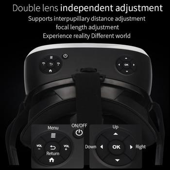 Sovawin All In One VR Hdmi Headset 2K HD Wifi 3D Smart Glasses Virtual Reality Immersive Goggle Cardboard VR Helmet 5.5' Display 6