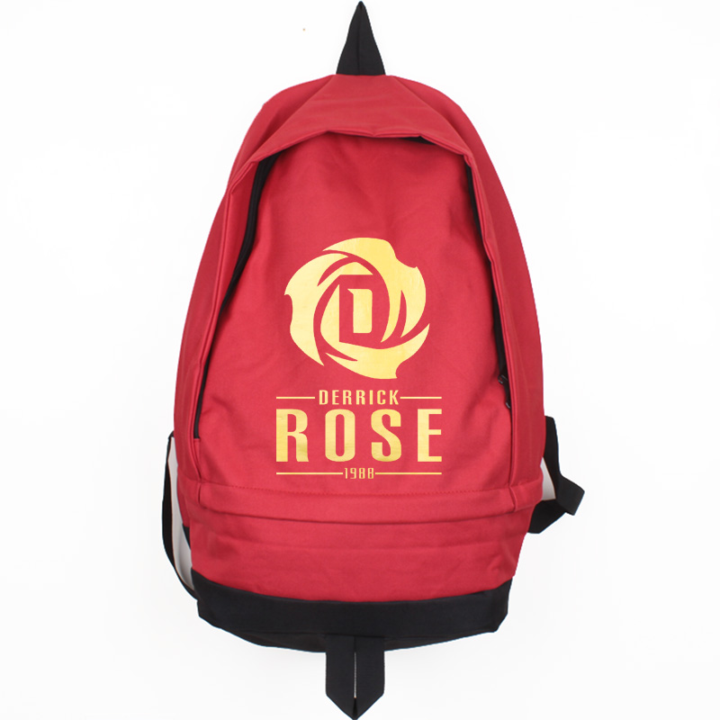 New Fashion Derrick Rose Canvas Backpack High Quality Men Women Large Capacity Travel Casual Rucksack Mochila Escola