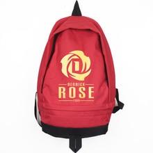 New Fashion Derrick Rose Canvas Backpack High Quality Men Women Large Capacity Travel Backpack Casual Rucksack Mochila Escola недорого